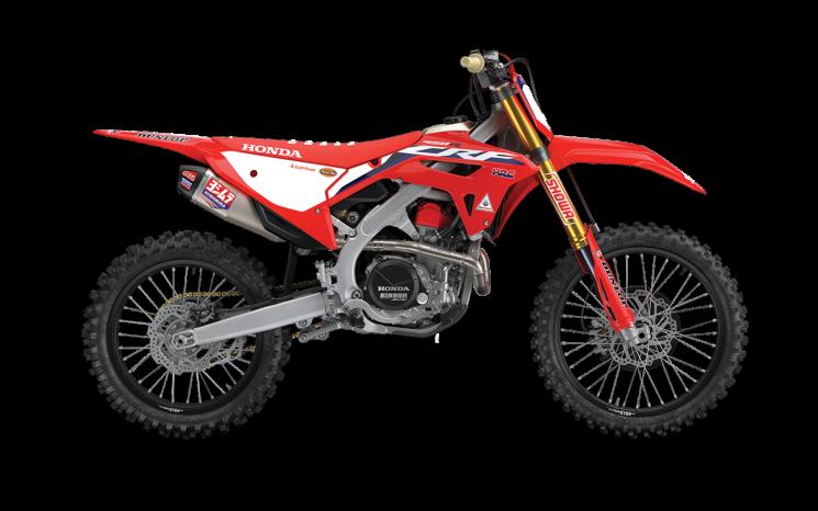 Honda CRF450RWE Rouge extrême 2021