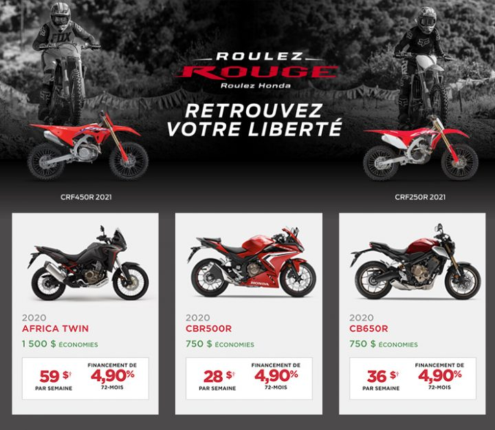 Roulez Rouge – Roulez Honda