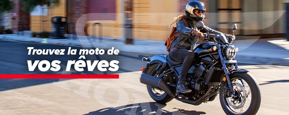 Motos Honda neuves