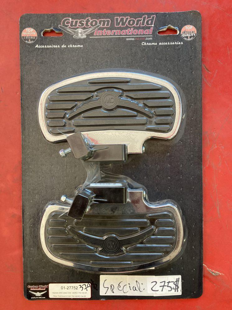 REPOSE PIED PASSAGER POUR HONDA AERO 750 , 2004 ET +